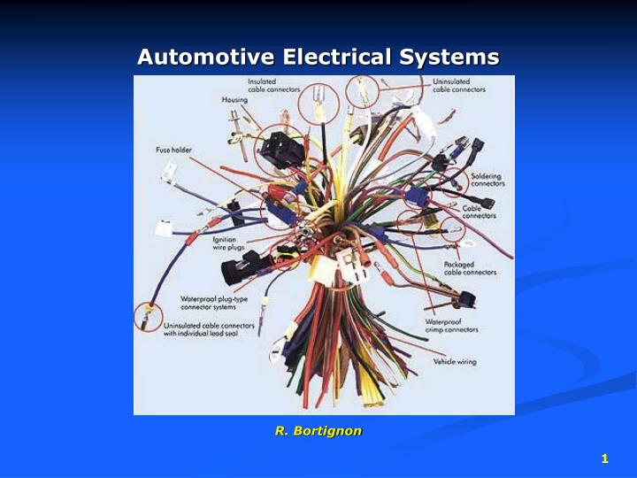 automotive electrical systems n.