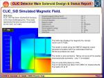 clic sid simulated magnetic field