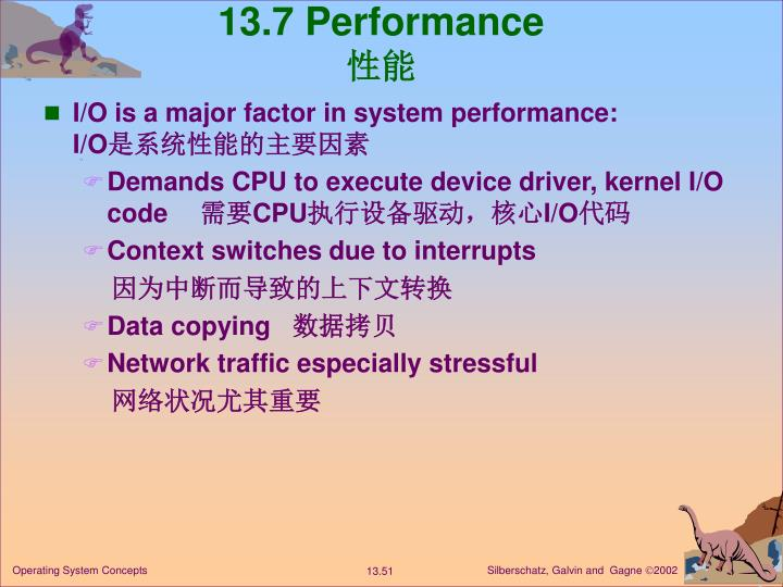 13.7 Performance