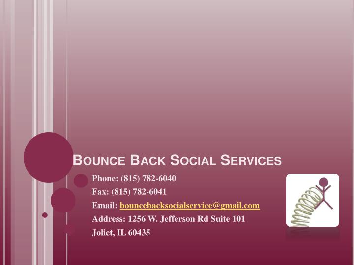 bounce back social services n.