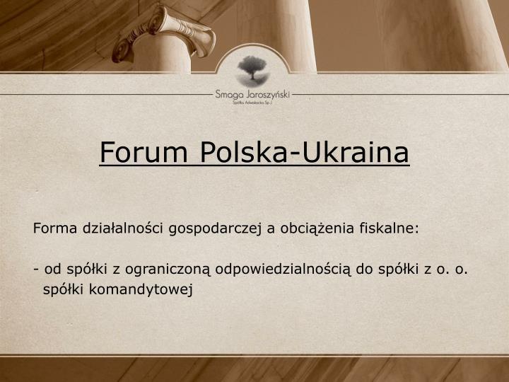 Forum polska ukraina1