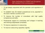 new challenges for vtmsz and hungarian mc industry in the coming years 1