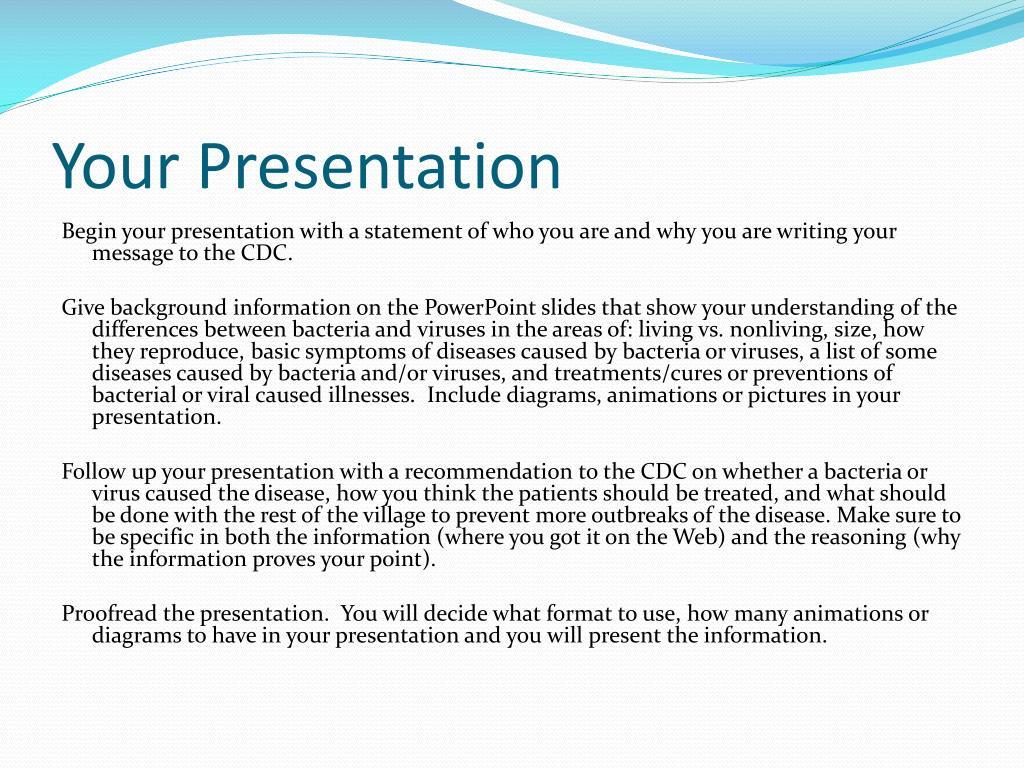 PPT - Outbreak! Bacteria or Virus? PowerPoint Presentation