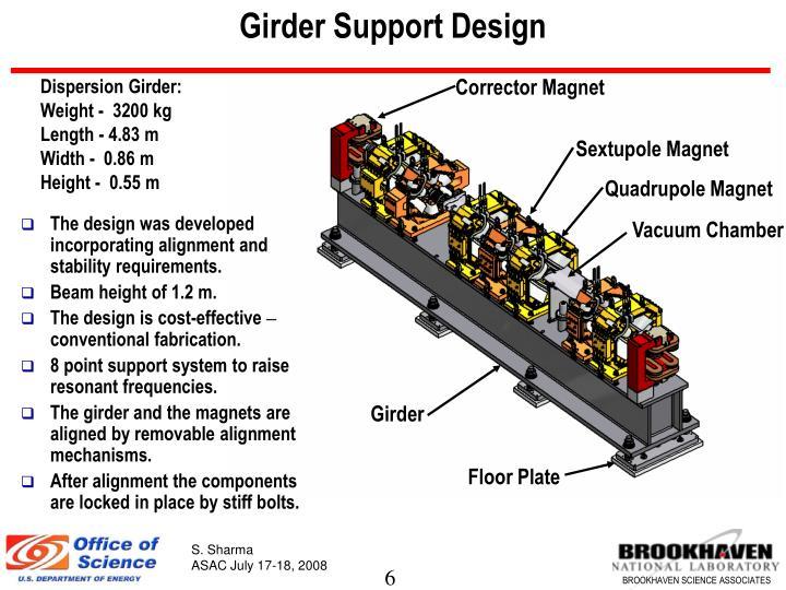 Girder Support Design