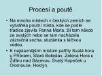 proces a pout