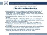 year in review 2006 2007 education and certification