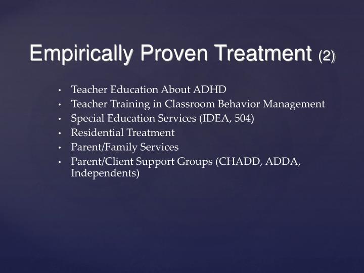 Teacher Education About ADHD