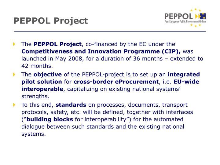 Peppol project