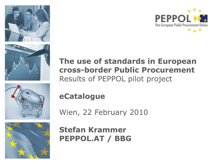 The use of standards in European