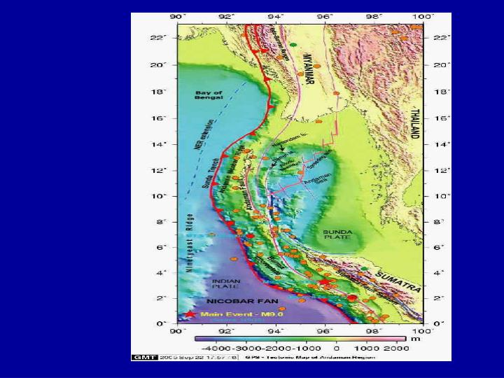 Some geophysical parameters as inputs for tsunami surge models dr k s r murthy