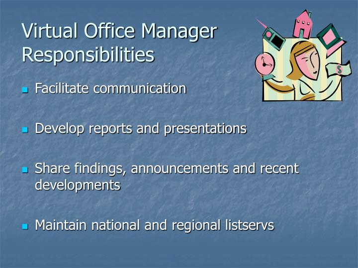 Virtual Office Manager Responsibilities