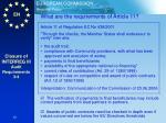 closure of interreg iii audit requirements 3 4