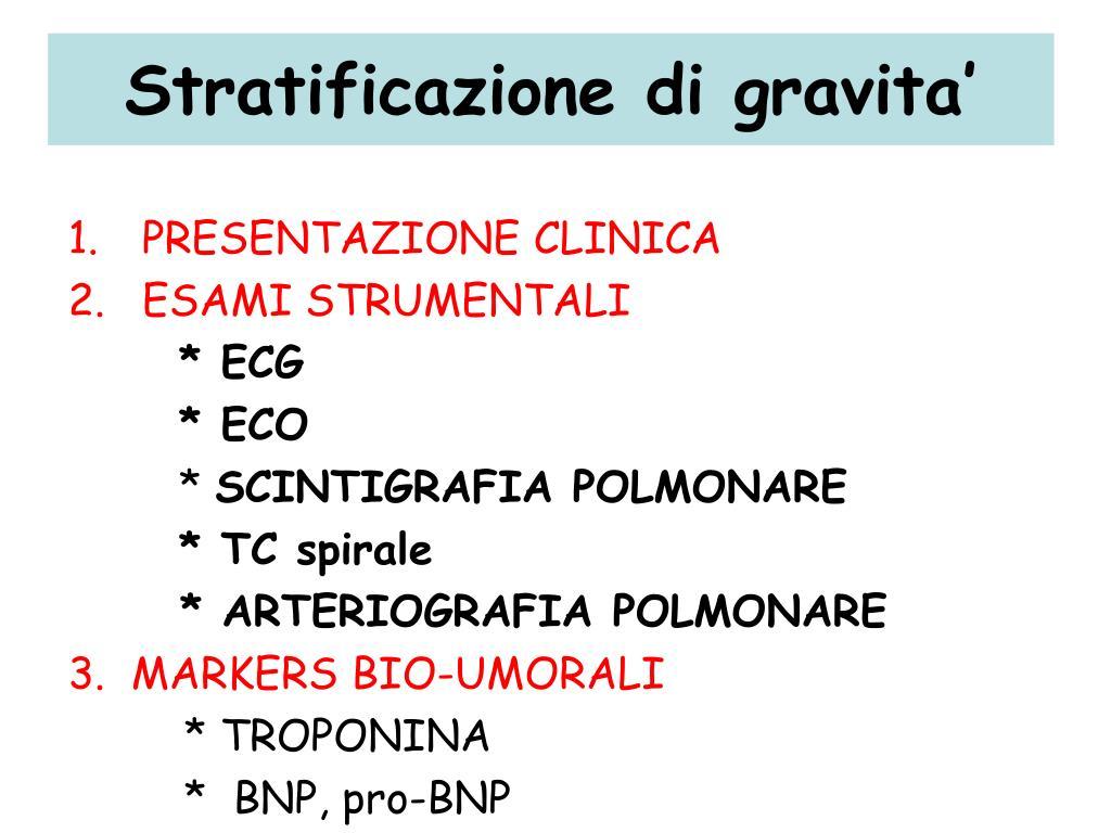 PPT - Embolia Polmonare Acuta ed Ipertensione Polmonare..