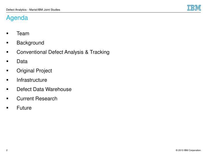 Ppt Defect Analytics Maristibm Joint Studies Powerpoint