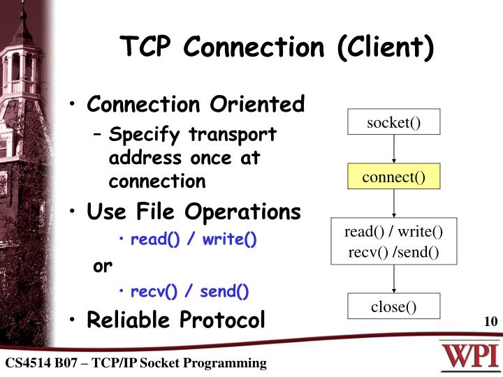 TCP Connection (Client)