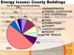 energy issues county buildings