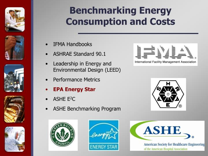 Benchmarking Energy Consumption and Costs