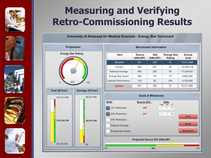 Measuring and Verifying Retro-Commissioning Results