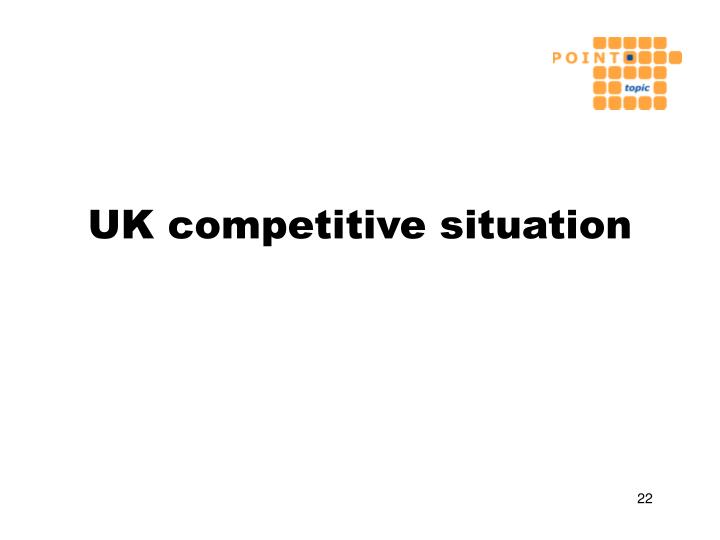 UK competitive situation