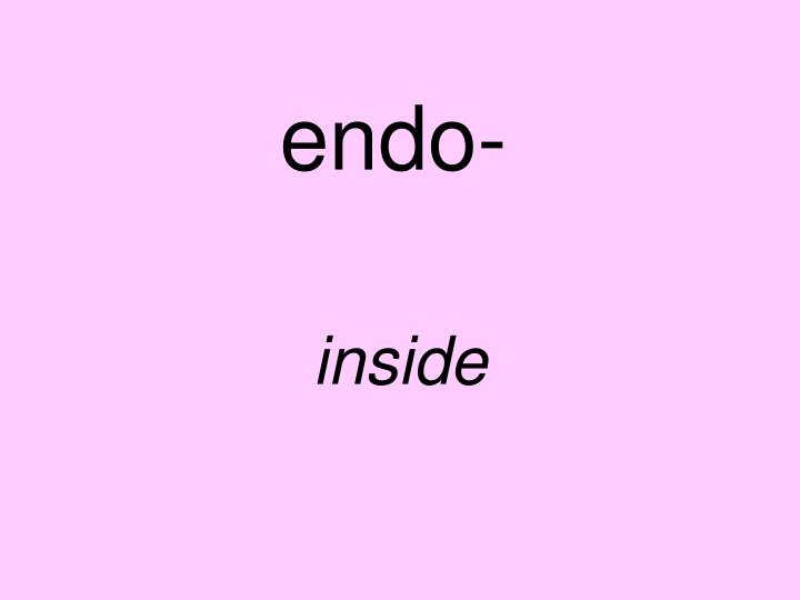 endo-