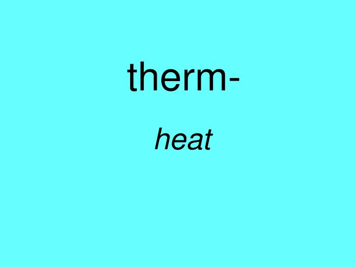 therm-