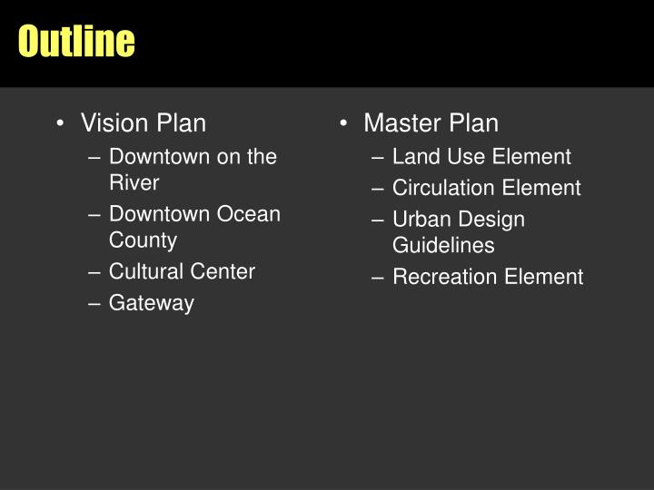 Vision Plan