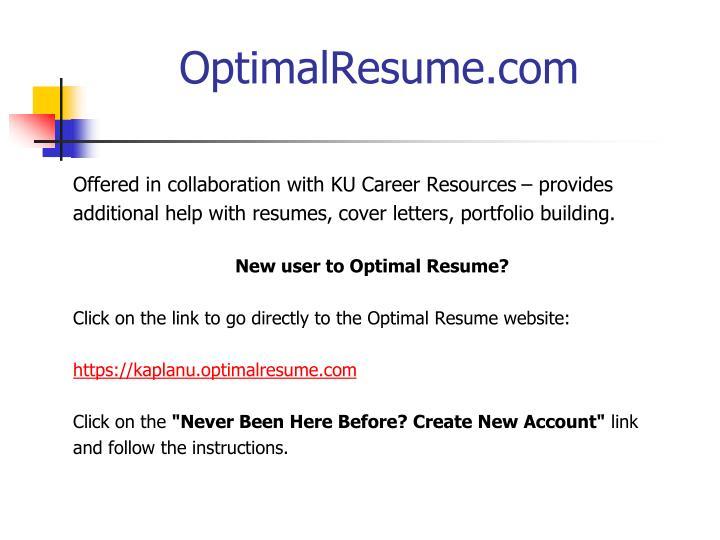 OptimalResume.com