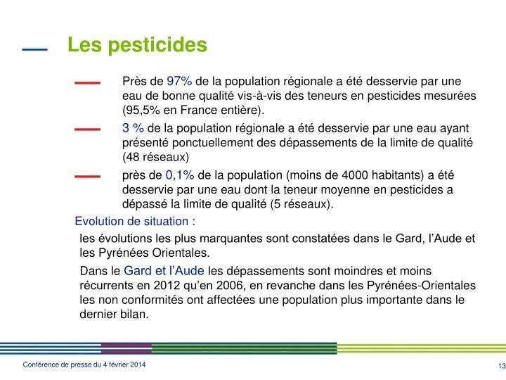 Les pesticides