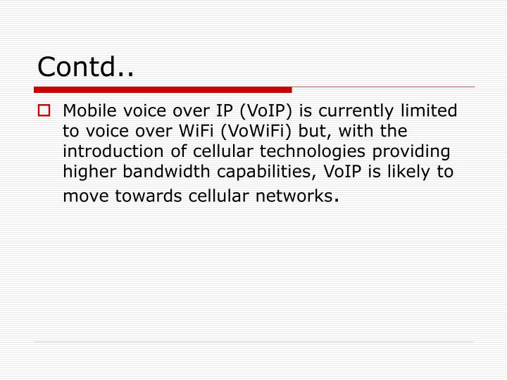 Ppt Voice Over Wifi Powerpoint Presentation Id 4058315