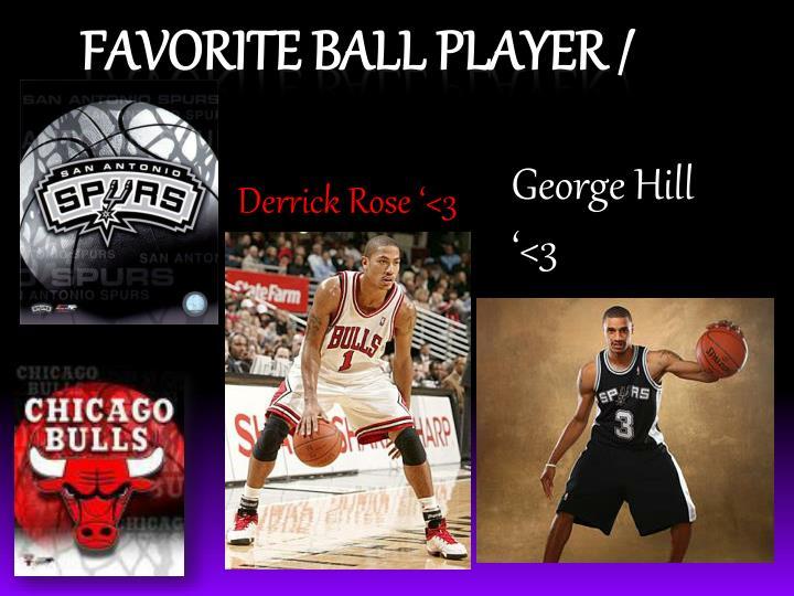 Derrick Rose '<3