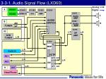 3 3 1 audio signal flow lxd60