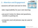2 attention and engagement