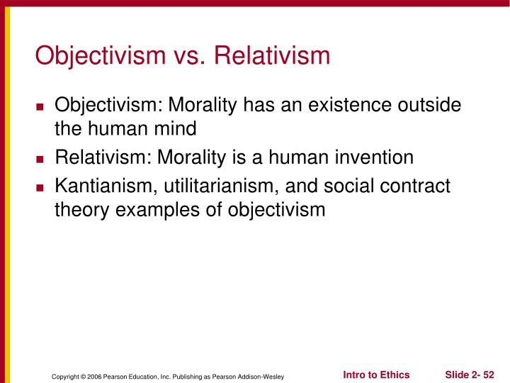 objectivism examples