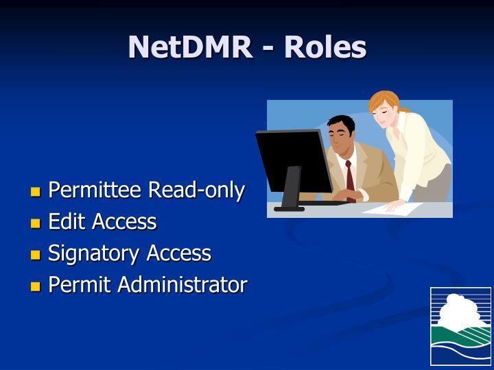 NetDMR