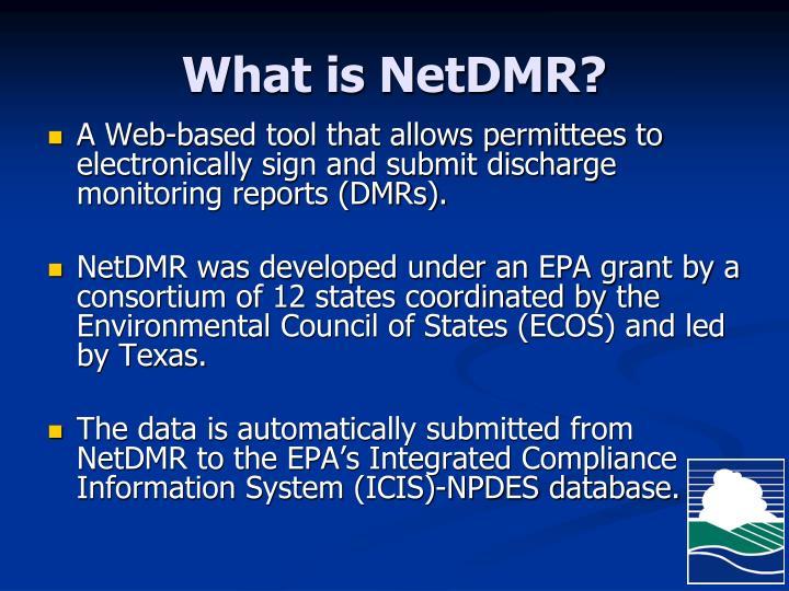 What is netdmr
