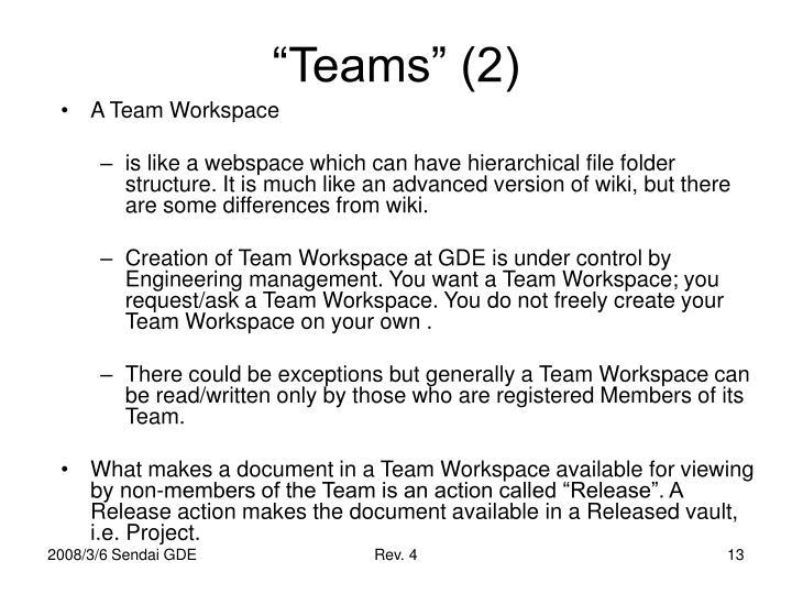 """""""Teams"""" (2)"""