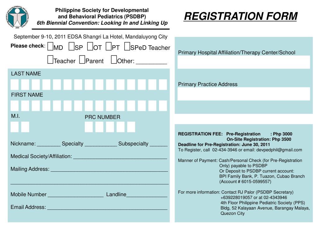 PPT - Philippine Society for Developmental and Behavioral Pediatrics
