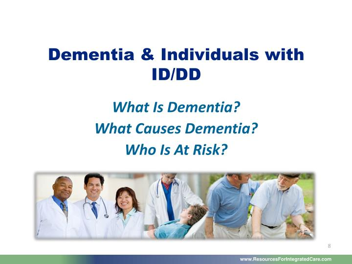 Dementia & Individuals with ID/DD