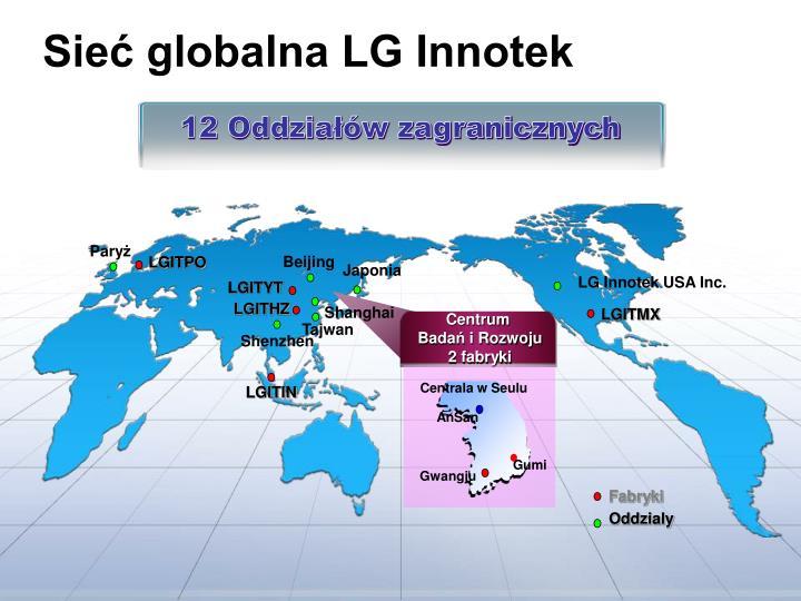 Sieć globalna LG Innotek