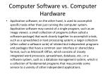 computer software vs computer hardware5