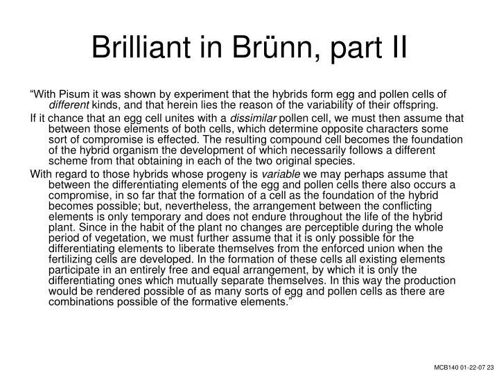 Brilliant in Br