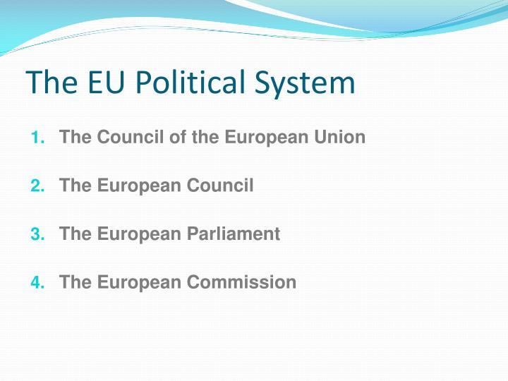The eu political system