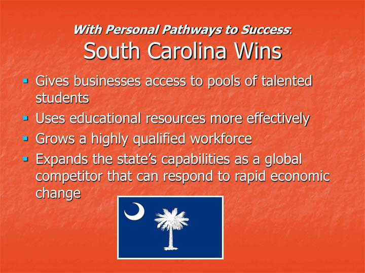 With Personal Pathways to Success