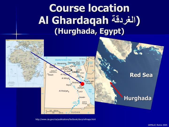 Course location