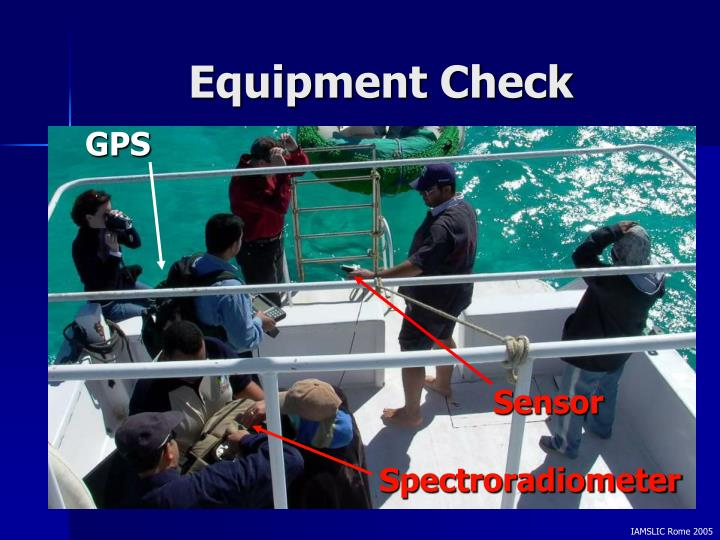 Equipment Check