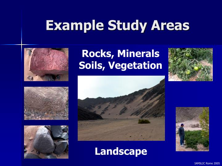 Example Study Areas