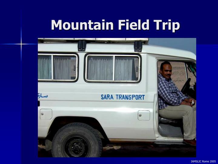 Mountain Field Trip