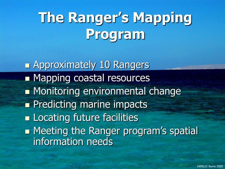 The Ranger's Mapping Program