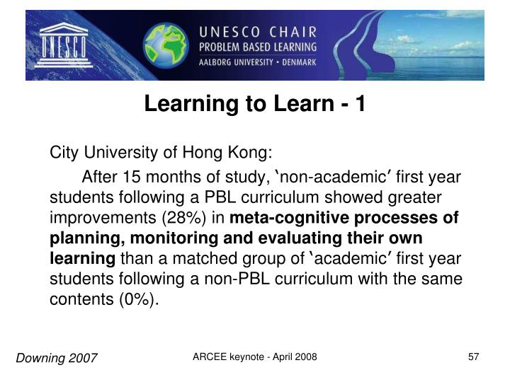Learning to Learn - 1