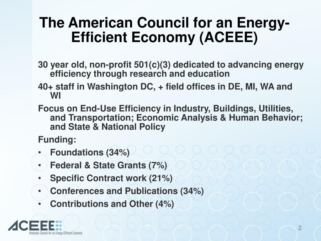 Aceee Staff
